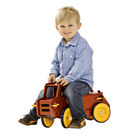 Moover Dump Truck | Wooden Ride on Truck | Lucas loves cars