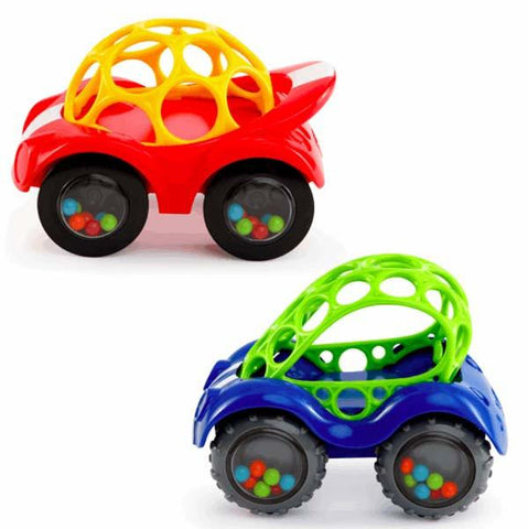 Oball Rattle and Roll car | Lucas loves cars