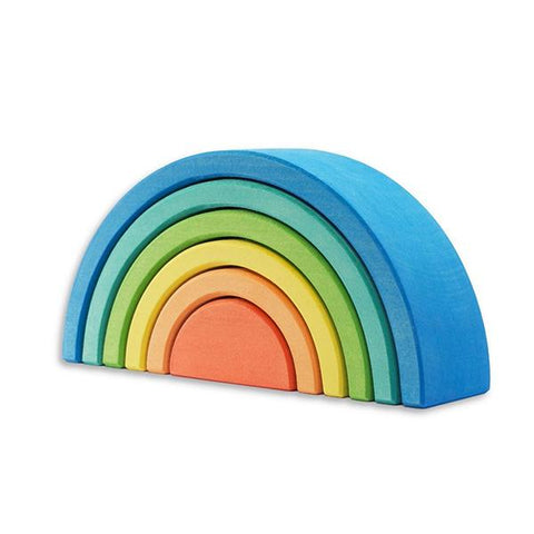 Ocamora Blue Rainbow | Ocamora Australia | Wooden toys | Lucas loves cars