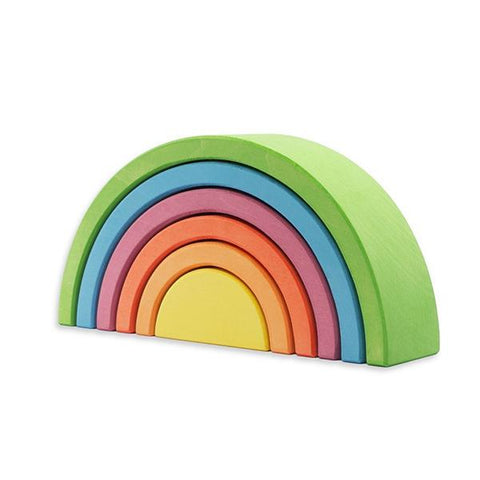 Ocamora Green Rainbow | Ocamora Australia | Wooden toys | Lucas loves cars