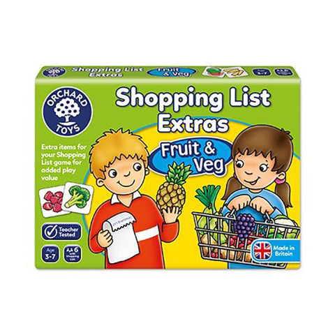 Orchard Toys | Shopping List Booster Pack  | Lucas loves cars