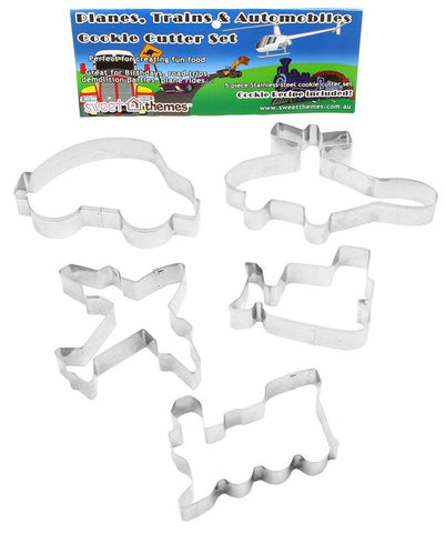 Transport theme cookie cutters | Lucas loves cars