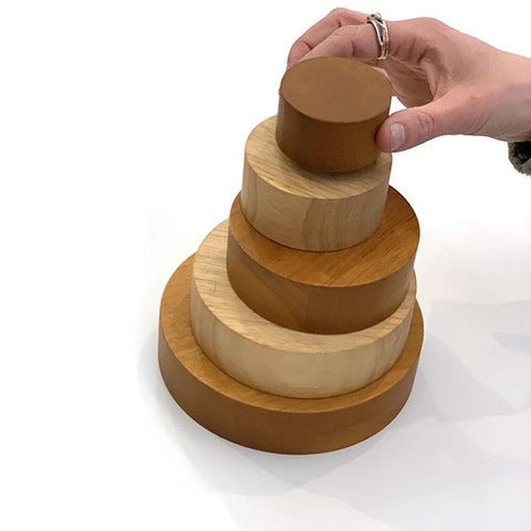 Wooden stacking nesting bowls | Wooden toys australia | Lucas loves cars