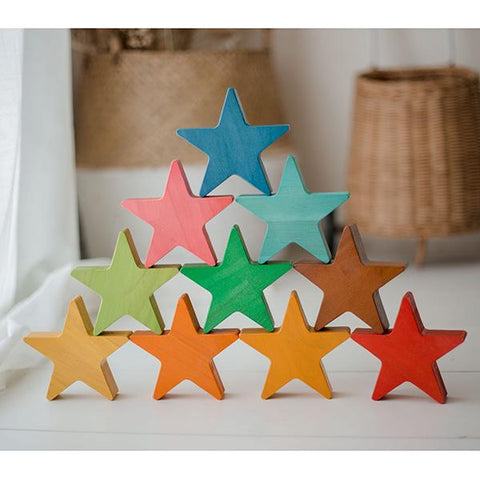Wooden stars  | Wooden toy | gifts for 2 year olds | Lucas loves cars