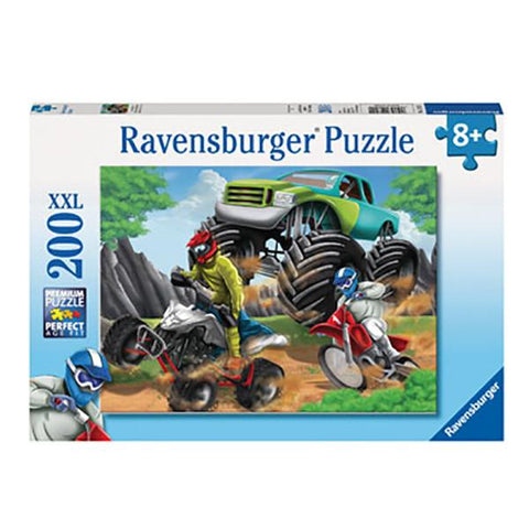200 pc Power Vehicles Jigsaw