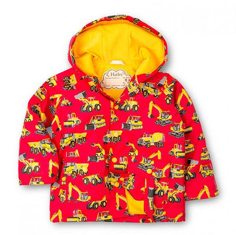 Hatley Heavy Vehicles Jacket | Lucas loves cars