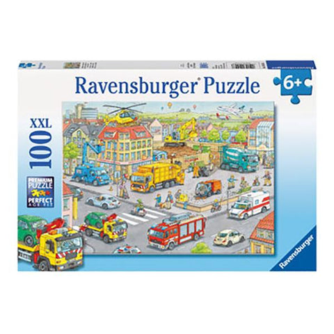 Ravensburger Vehicles in the city  XXL 100 pc