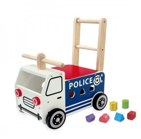 Police Car Ride on | Wooden toy | Lucas loves cars