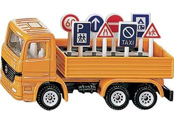 SIKU Truck with Signs | Lucas loves cars