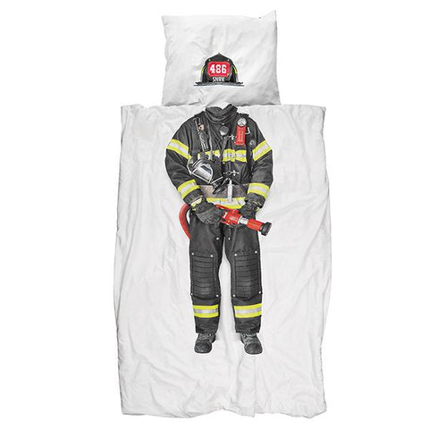 Bedding Firefighter | Cotton bedding for kids |  Lucas loves cars