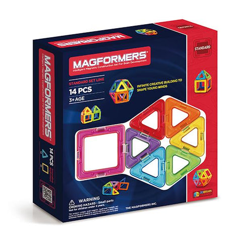 Magformers 14 | Magnetic tile toys | Lucas loves cars