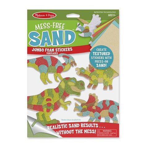 Mess Free Sand stickers - Dinosaurs