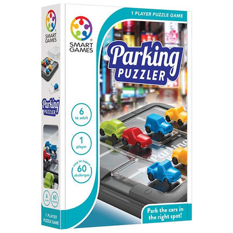 Smart Games | Parking Puzzler | Games for 6 yr olds | Lucas loves cars