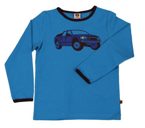 Smafolk Blue ute top | Smafolk Australia | Lucas loves cars