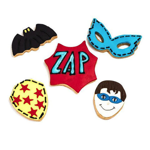Super heros biscuit cutters