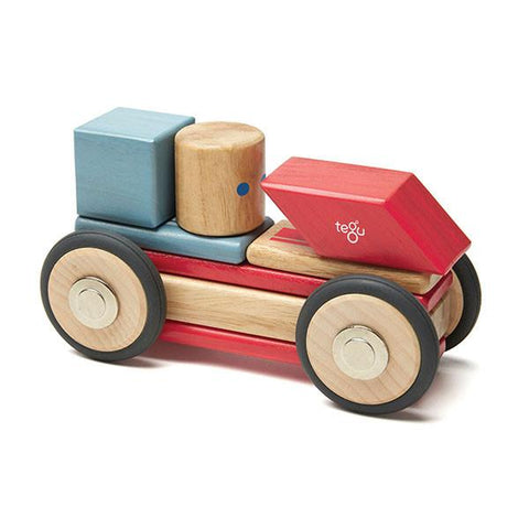 Tegu wooden blocks | Lucas loves cars