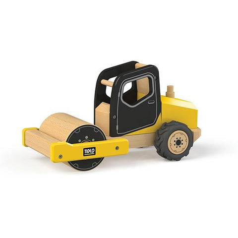 Tidlo Australia | Construction truck toys | Road Roller toy  | Lucas loves cars