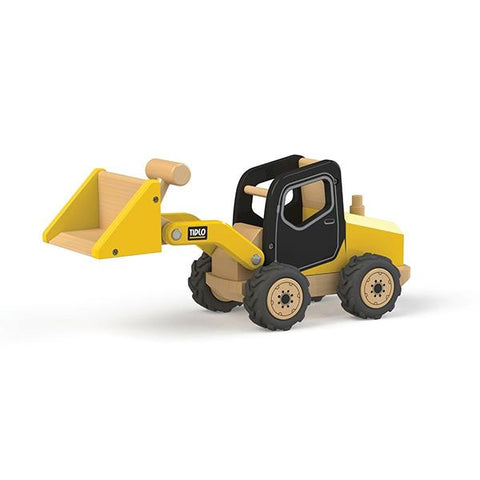 Tidlo Australia | Construction truck toys | Front loader toy  | Lucas loves cars