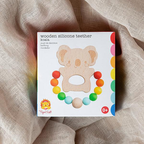 Koala wooden teether | Tiger Tribe | Lucas loves cars