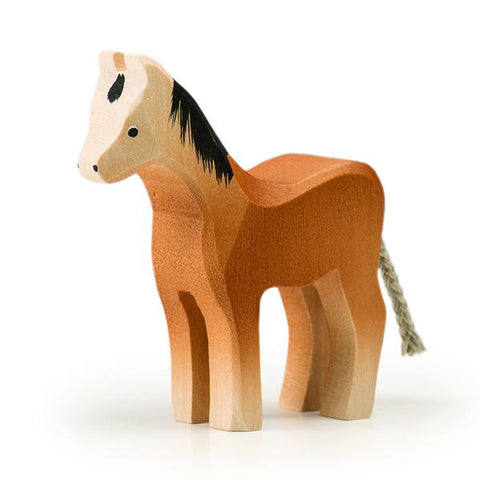 Trauffer horse small  | wooden animal toys | hand made toys | lucas loves cars