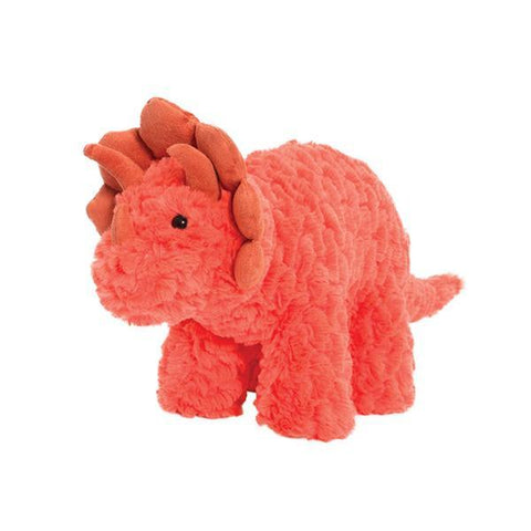 Soft toy dinosaur triceratops | Dinosaur toys | Manhattan Toy Company | Lucas loves cars