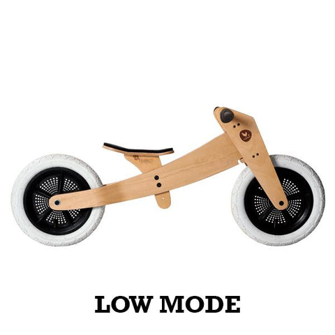 Wishbone 2 in 1 Balance Bike Natural | Wishbone bikes | Balance bike | Lucas loves cars