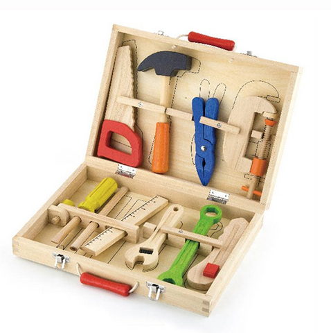 WOODEN TOOL SET | Lucas loves cars