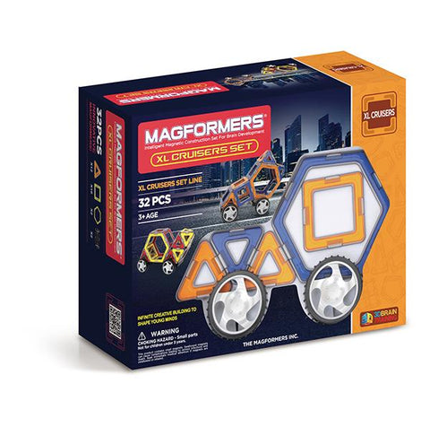Magformers XL vehicles 32 | Magformer magnet tiles | Lucas loves cars
