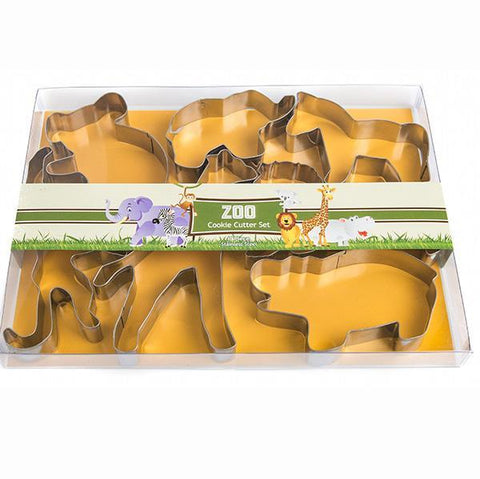 Biscuit cutter Zoo set | Sweet Themes |  Lucas loves cars