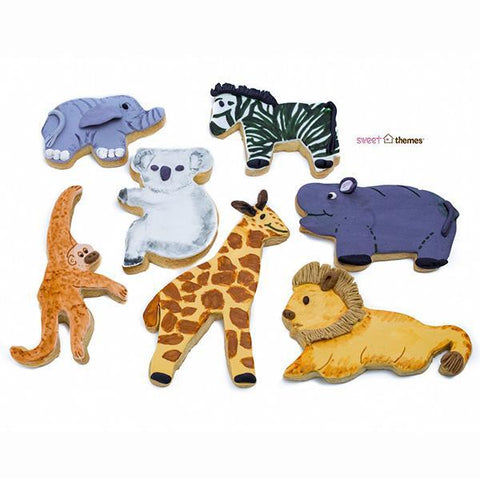 Biscuit cutter - 7 Piece ZOO set | Sweet Themes |  Lucas loves cars
