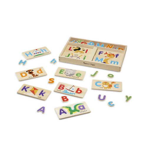 ABC wooden picture boards | Wooden puzzles | Melissa and Doug Australia  | Lucas loves cars