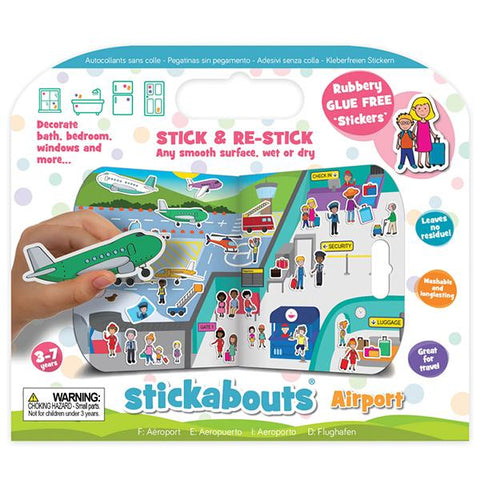 Stickabouts Airport | Plane toys | Airport stickers | Lucas loves cars