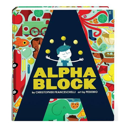 Alphablock book | Brumby Sunstate - supplier |  Lucas loves cars
