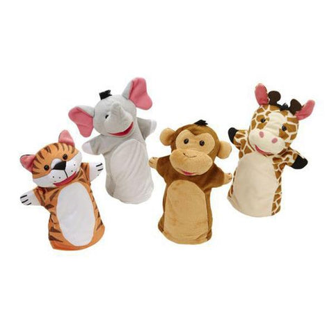 Zoo Animals Hand Puppets | Melissa and Doug | Lucas loves cars