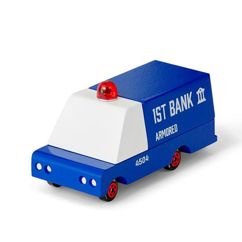 CandyLab mini armoured bank truck  | Candylab trucks | Police toy cars | Lucas loves cars