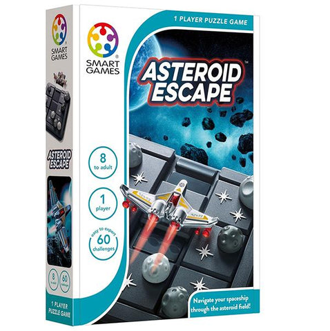 Asteroid Escape | Smart Games |  Lucas loves cars