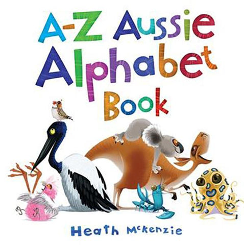 A-Z AUSSIE ALPHABET BOOK | best kids gifts from australia |  Lucas loves cars