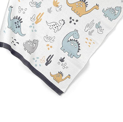Baby Dinosaur cotton blanket | Baby gift | Indus | Lucas loves cars