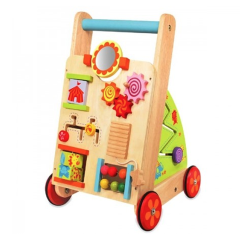 Baby first Walker | Toddler Wooden walker | Lucas loves cars