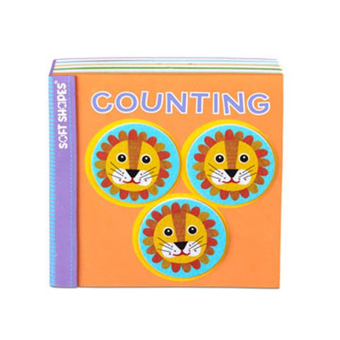 Bath book Soft Shapes Counting