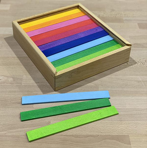 Bauspiel | Bauspiel Colour Rods | Lucas loves cars