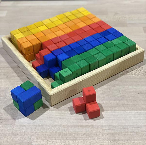 Bauspiel | Corner Blocks 50pc | Lucas loves cars