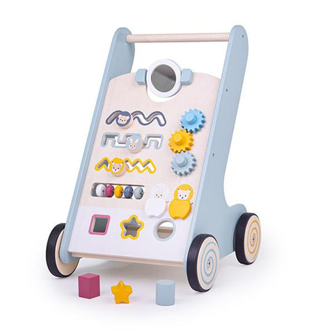 BigJigs FSC wooden baby walker  | Wooden baby walker | Lucas loves cars