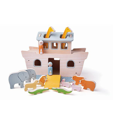 BigJigs Noah's Ark  | Wooden Noah's Ark | Eco sustainable toy | Lucas loves cars