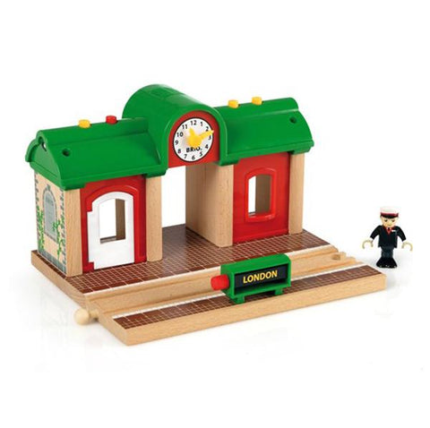 BRIO Train - Record and Play station | Brio |  Lucas loves cars
