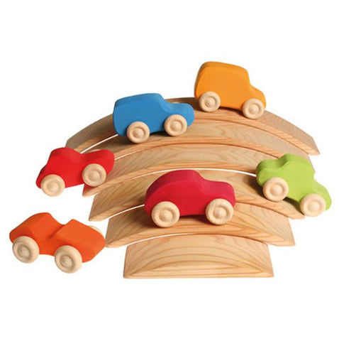 Grimm colourful wooden cars | Lucas loves cars