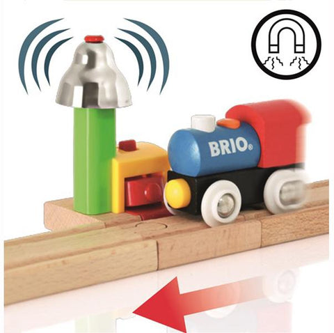 Brio Trains |  Brio My First Railway | Train bell signal |  Lucas loves cars