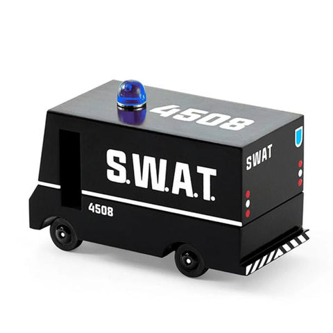 CandyLab mini SWAT truck  | Candylab trucks | Candyvan | Lucas loves cars