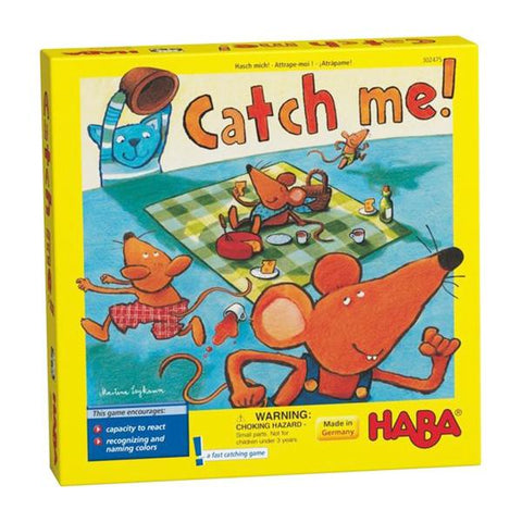 Catch me game | Haba toys | family games  | lucas loves cars