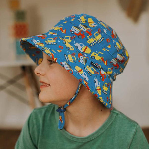 Bedhead Kids hats | Construction truck hats | Bucket hat | Lucas loves cars